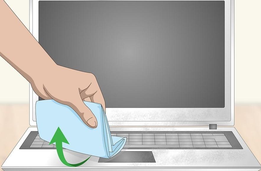 come pulire il tuo notebook