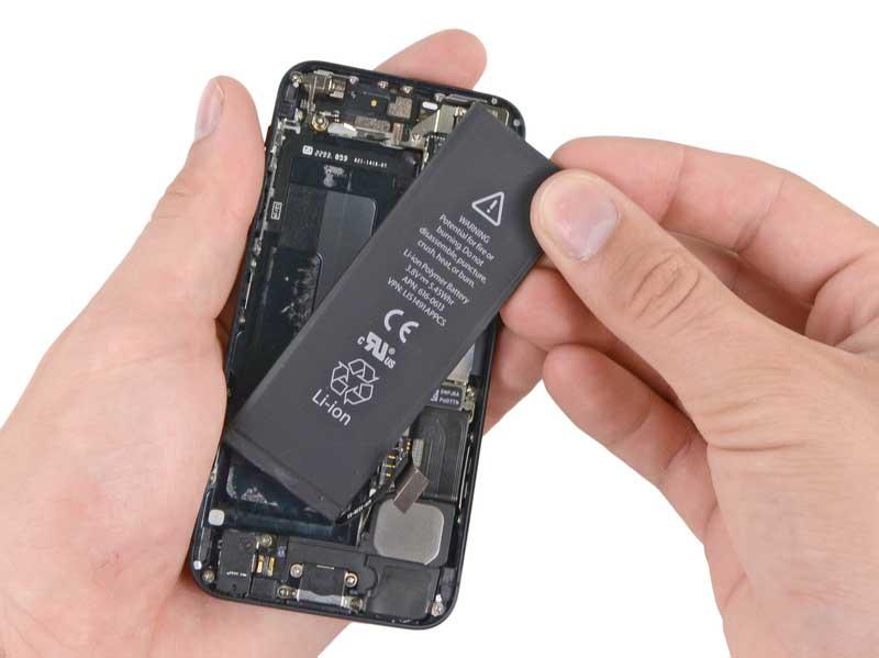 sostituire batteria iphone 5