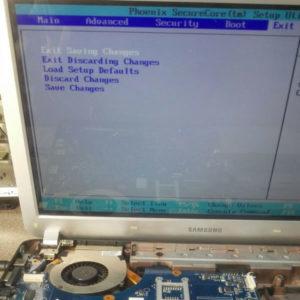 Aggiornamento e test del BIOS